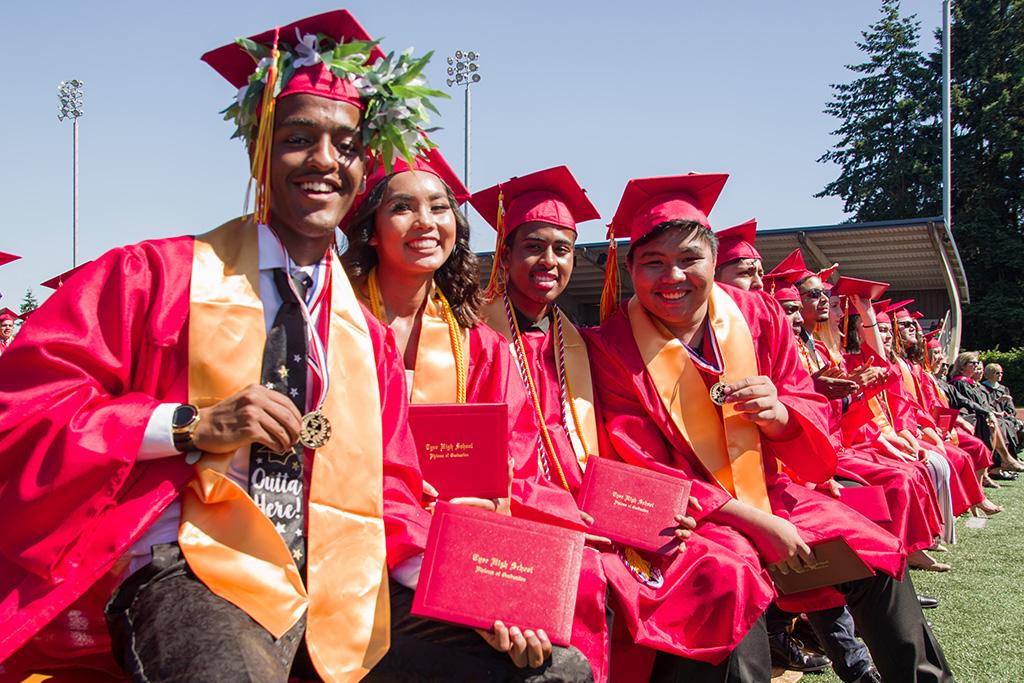 Tyee Graduates