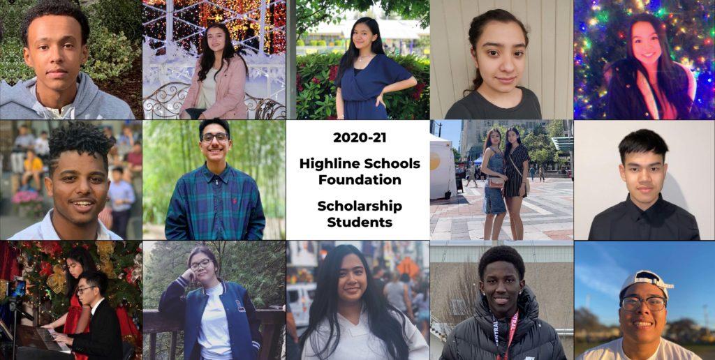 2020 Scholarship Students